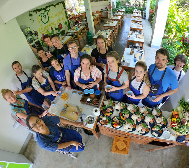 Thai Secret Cooking Class. Chiang Mai, Thailand. October 9th 2018
