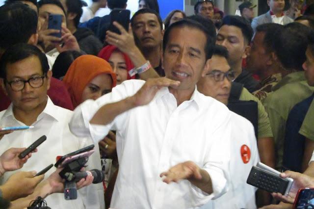 Soal Anggaran Bocor, Jokowi: Yang Bocor di Sebelah Mana? Laporkan Saja ke KPK