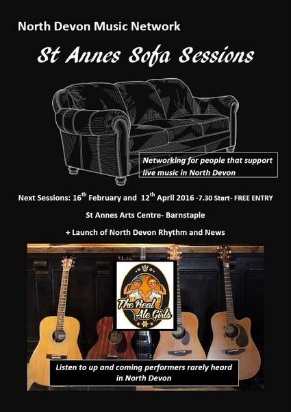 North Devon Music Network. St. Anne's Sofa Sessions
