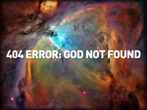 404 Error - God Not Found Picture