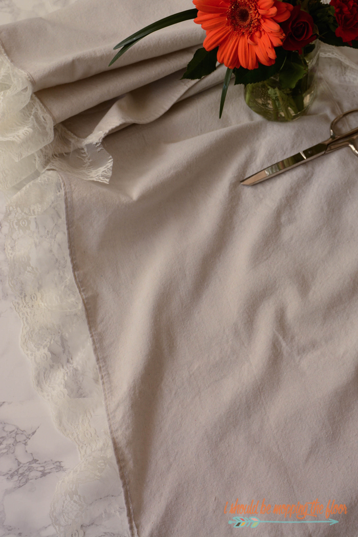 Drop Cloth Sewing