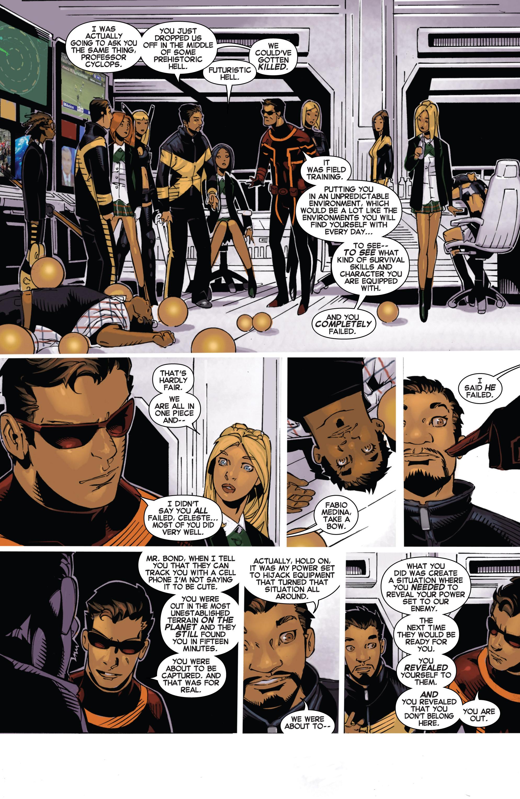 Read online Uncanny X-Men (2013) comic -  Issue #17 - 18