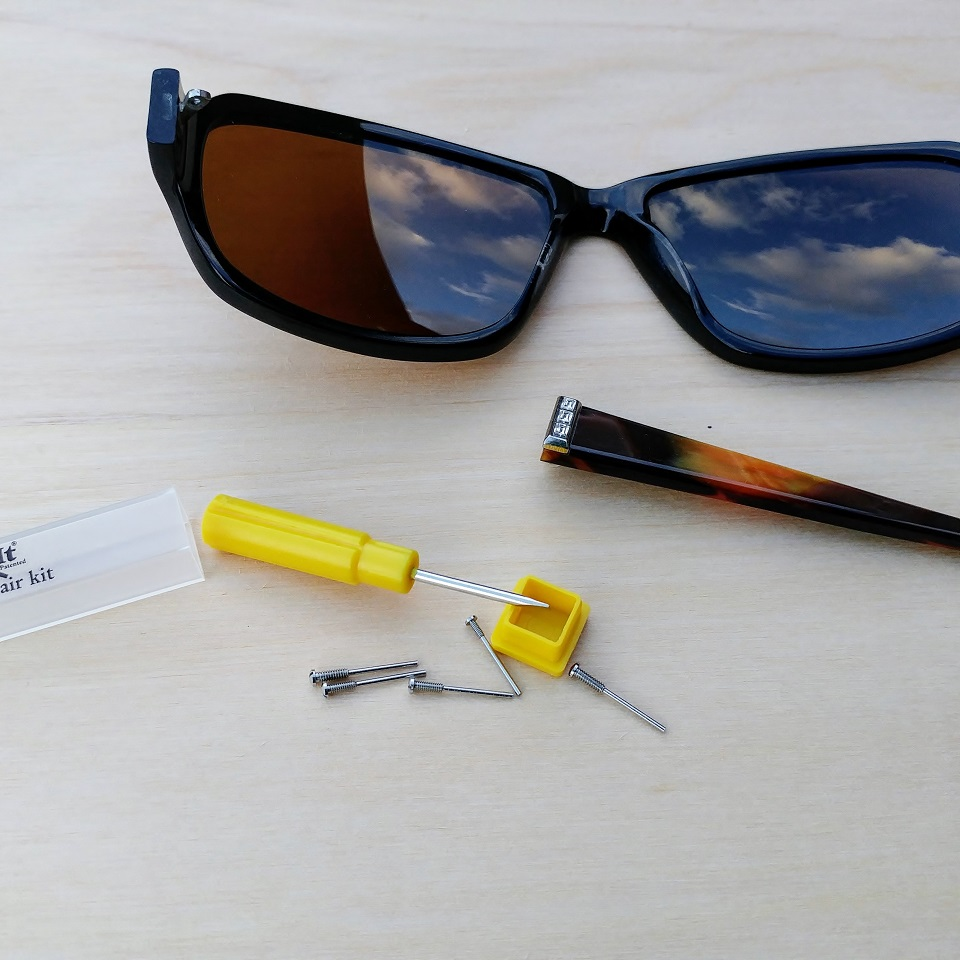 Easy Sunglasses hack to replace lost screws - My WAHM Plan