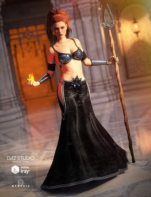 Mystical Mage for Genesis 3 Female