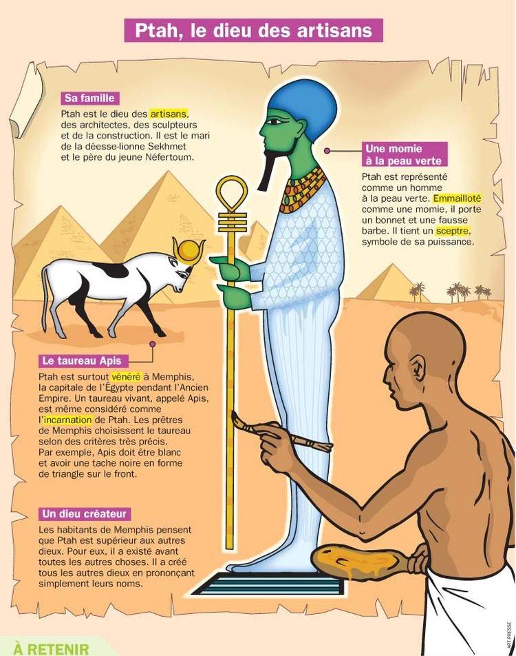 Ptah, Le dieu Des Artisans
