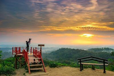 Lokasi Bukit Cinta Bayat Spot Sunrise di Klaten