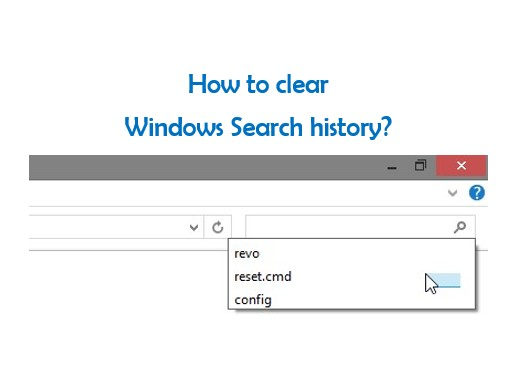 Clear all history on computer : - 16.8KB