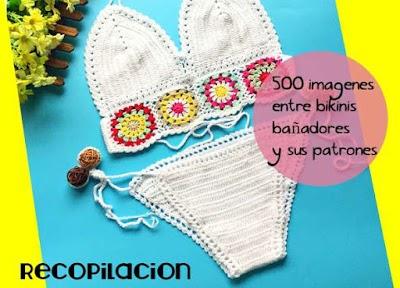 500 ideas con patrones de ropa de playa