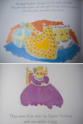 gaslighthouse.blogspot.com The Queen's Knickers by Nicholas Allan children's book humour