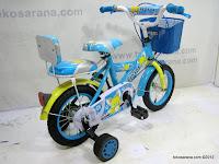 4 Sepeda Anak Red Fox BMX Sandaran Boncengan 12 Inci 4