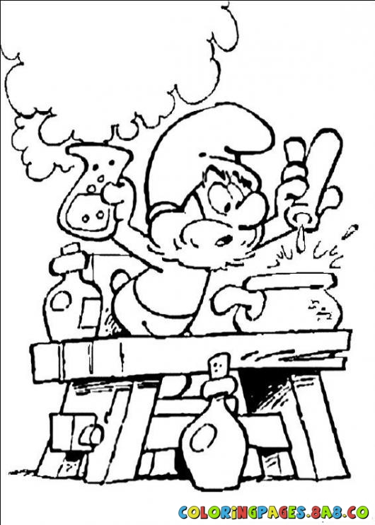 5 Picture of Papa Smurf Coloring Pages >> Disney Coloring