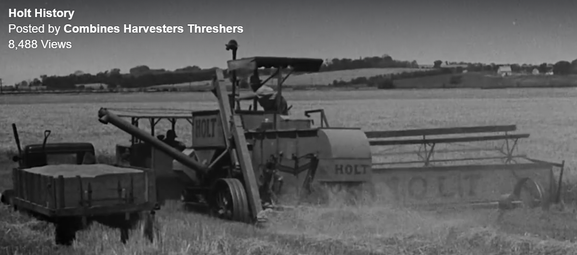 Industrial History: Holt Combine