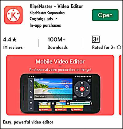 Kinemaster Best Video Editing App For YouTubers