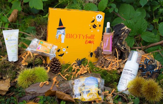 La Biotyfull Box du mois d'octobre m'a-t-elle ensorcelée? :)