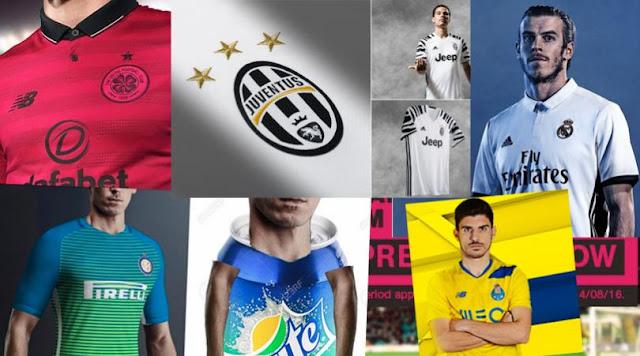 Las camisetas más feas de la temporada 2016/2017