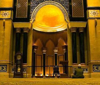 Bagian Dalam Masjid Kubah Emas