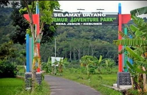 Pesona Keindahan Wisata Jemur Adventure Park Di Jemur Kebumen Jawa