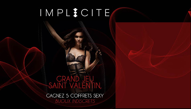 Instant gagnant : 5 coffrets Accessoires Sexy - Bijoux Indiscrets à gagner !