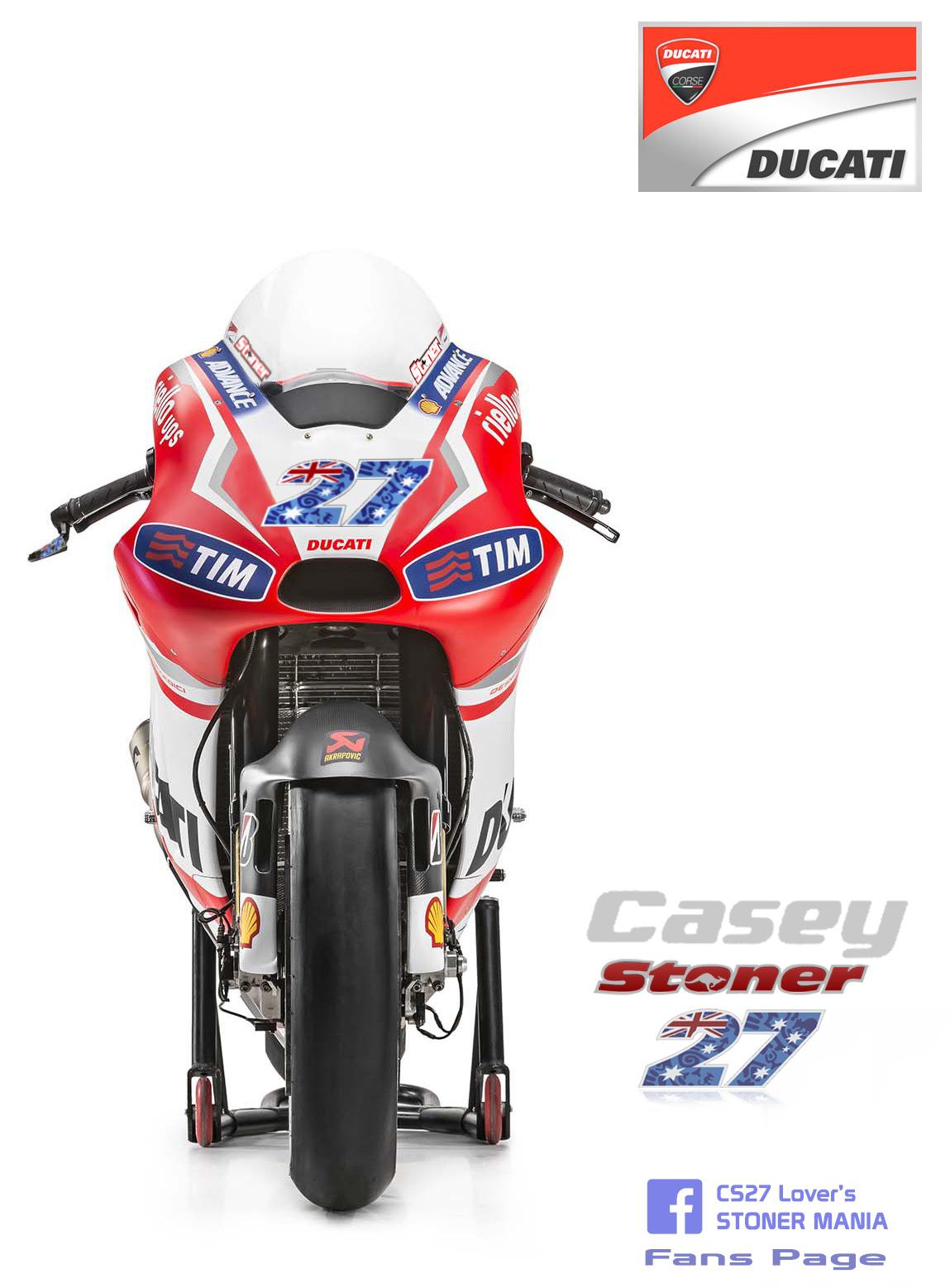 Casey Stoner 2016 Ducati