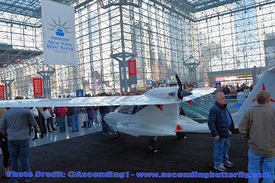 Adventure Flying with the Icon A5 by Icon Aircraft, NY Boat Show, #NYBoatShow