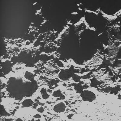 Fotos de la sonda Clementine