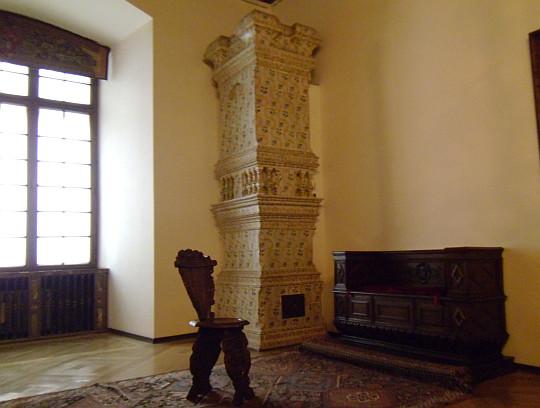 Zamek Królewski na Wawelu. Apartament gościnny.