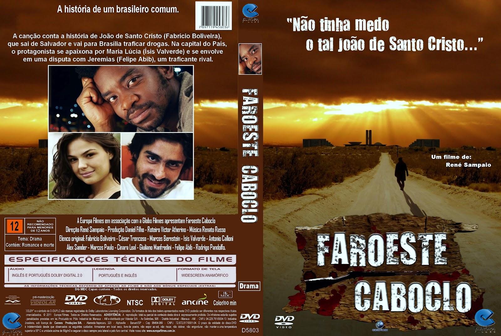 filme faroeste caboclo nacional gratis