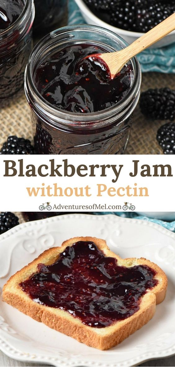 Simple Blackberry Jam without Pectin