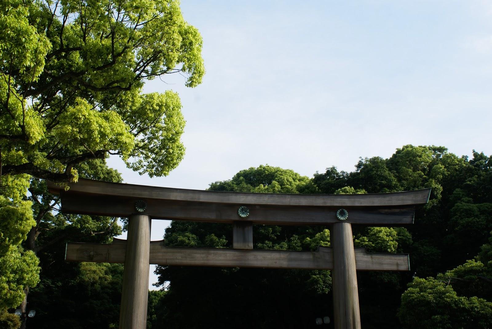 meiji jingu tokyo japon