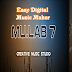 Download Software Ringan Paling Mudah Bikin Musik  : Mulab Easy Digital Music Maker  -  32 MB