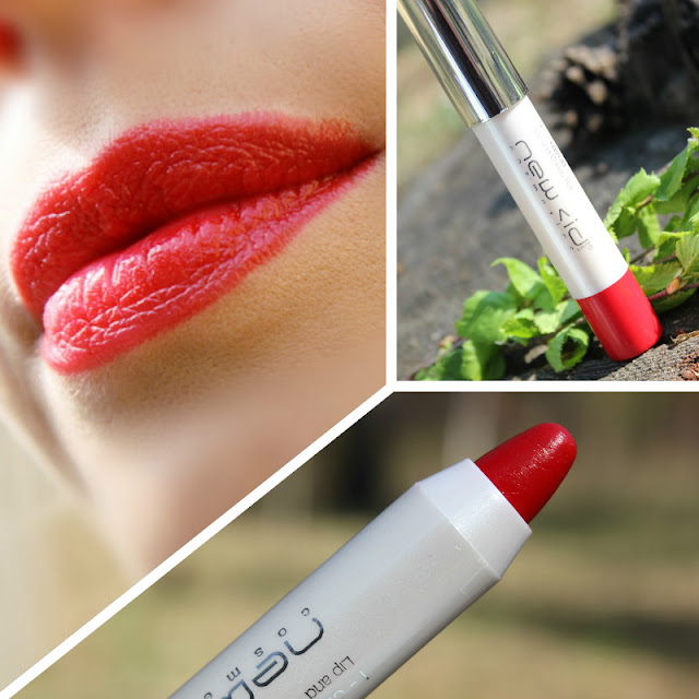 Отзыв: «Клубничное суфле». Тинт и румяна, два-в-одном - New CID Cosmetics i-crayon Lip and Cheek Tint.