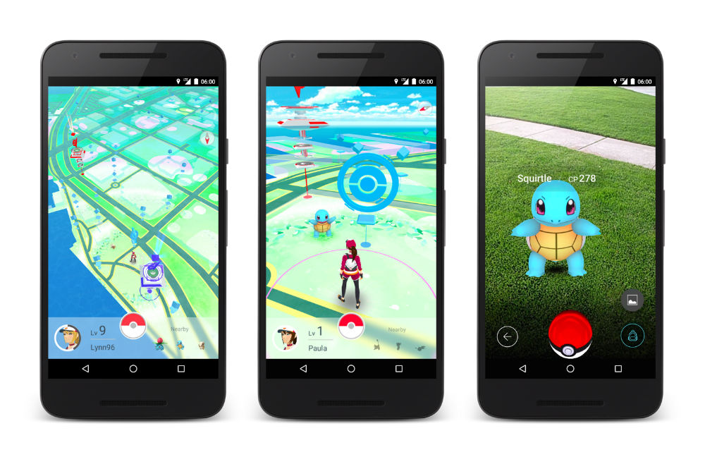Watch: 8 Minutes of Leaked Pokémon GO Beta Gameplay