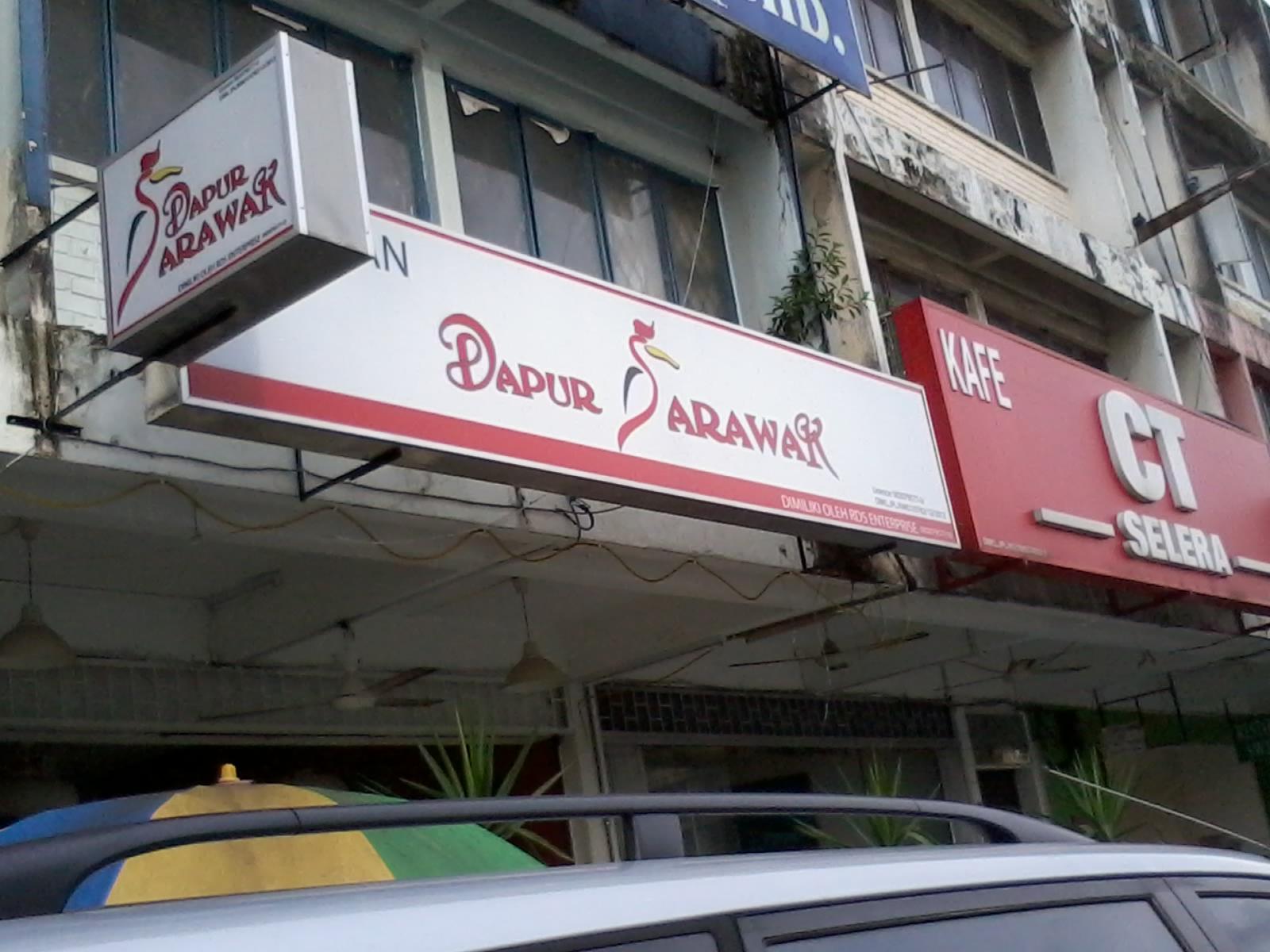 Kedai Dapur Sarawak Ni Pemiliknya Pelakon Mahmud Ali Basha Tu Makanan Not Bad Rasa Masih Ada Originality And Harga Standard Kl Ye