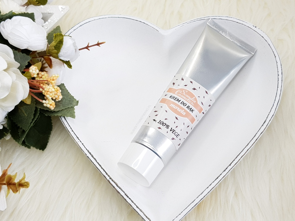 Scandia Cosmetics krem do rąk morela | Jest moc!