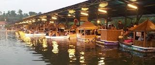 tempat wisata di jawa barat - floating market lembang