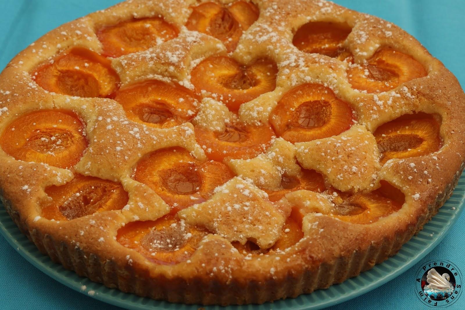 Tarte lorraine sans pâte aux abricots