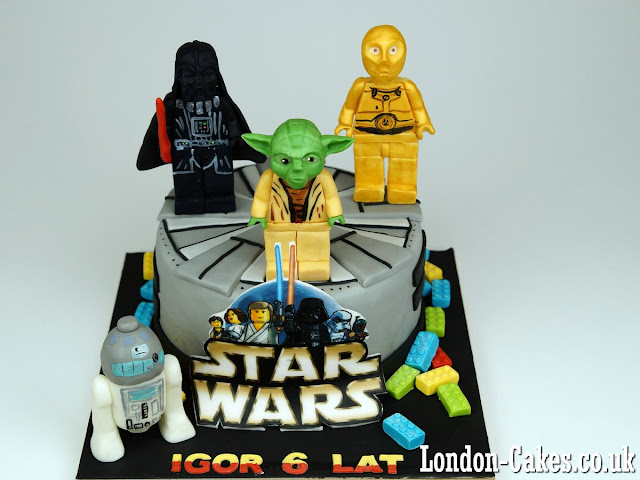 Lego Star Wars Cake in London