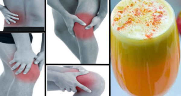 Say Goodbye To Pain In your Joints, Legs, And Lower Back With This Proven Anti – Inflammatory Juice Recipe!