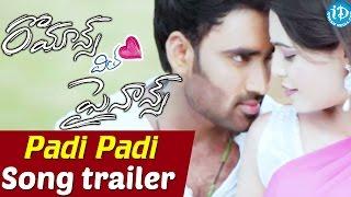Romance With Finance Movie __ Padi Padi Video Song Trailer __ Sathish Babu, Marina Abraham