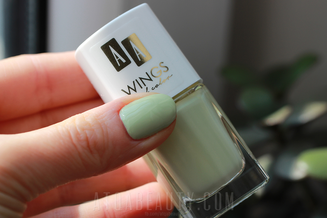 Paznokcie :: AA Wings of Color Oil Therapy 24 Spicy Kale [recenzja]