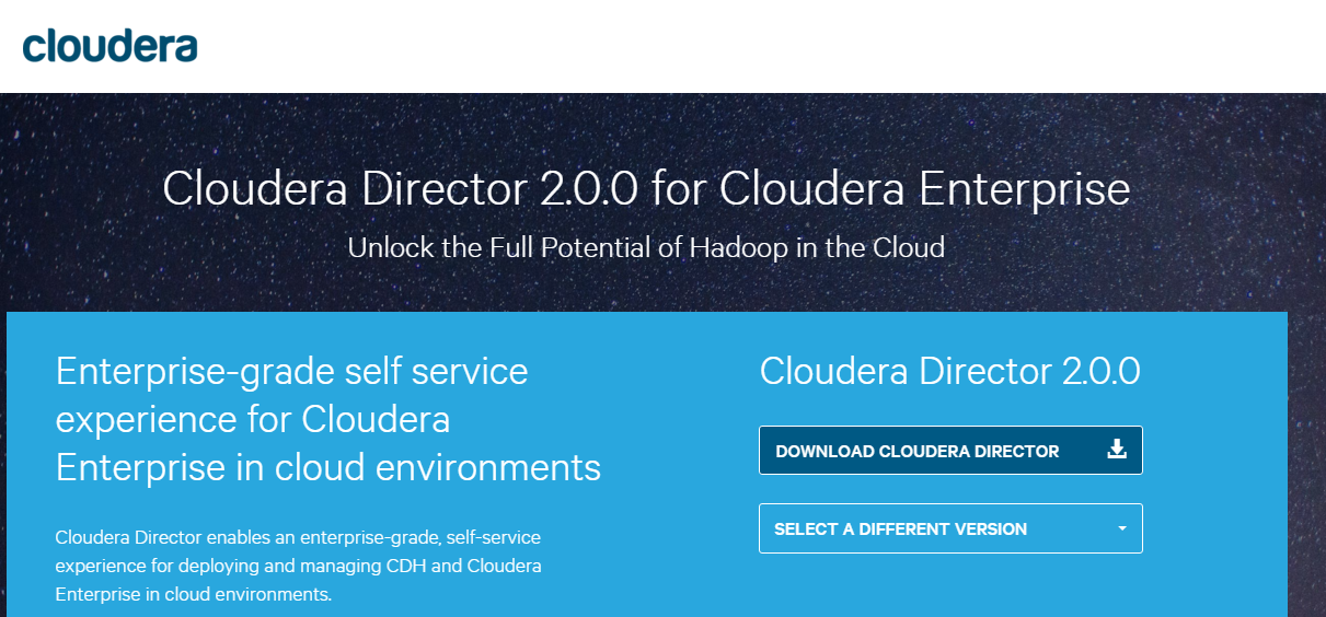 Cloudera Announces Cloudera Director 2 0 for the Easiest Way