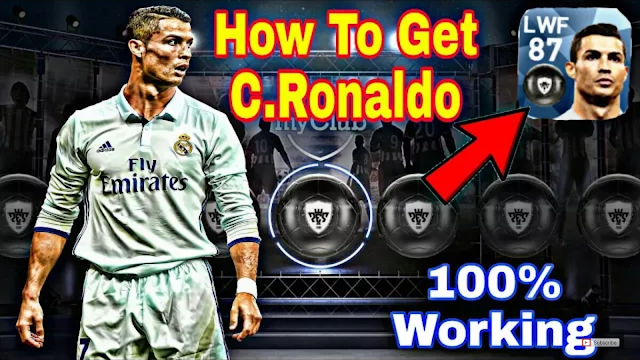 How To Get C.Ronaldo 100% In PES 2018 Mobile (Android/IOS)