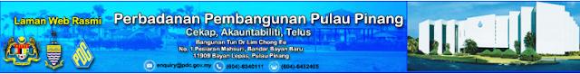 Rasmi - Jawatan Kosong (PDC) Perbadanan Pembangunan Pulau Pinang 2019