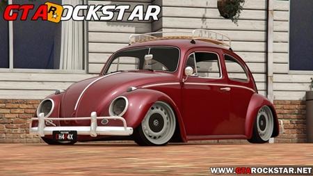 Volkswagen Fusca 1968 Rebaixado para GTA San Andreas