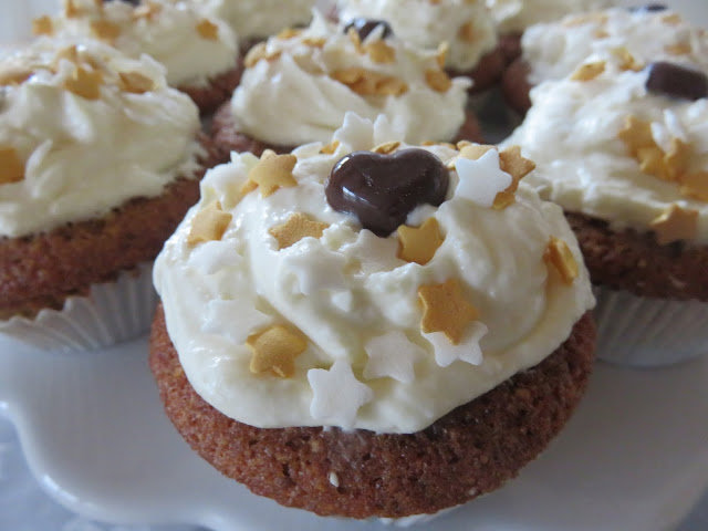 Orangen-Lebkuchen-Muffins