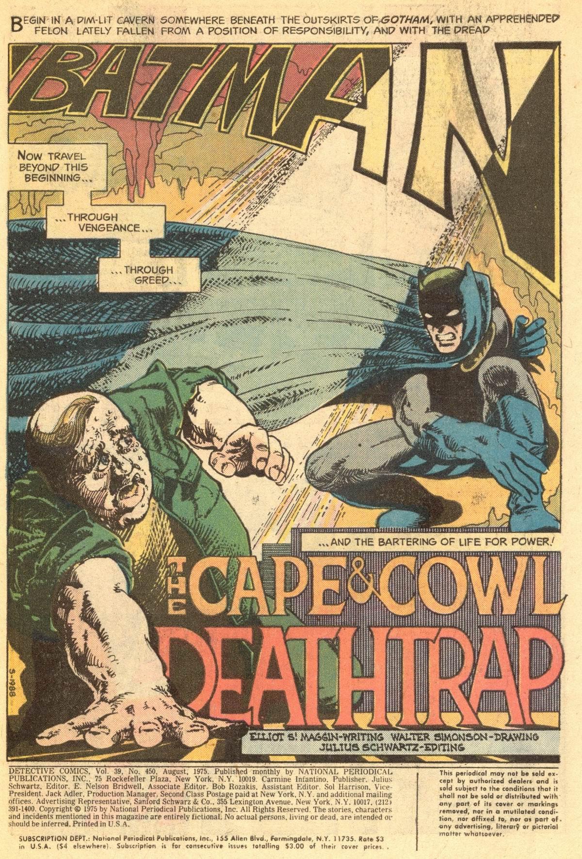 Detective Comics (1937) 450 Page 2