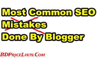 The 5 Common SEO Mistakes Done by Blogger