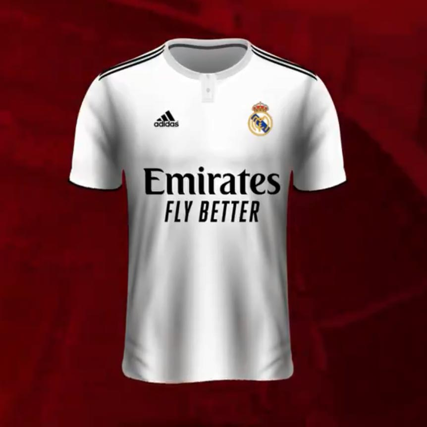 promo code 76b81 9d6eb Real Madrid To Wear Special Emirates 'Fly Better' Kit ...