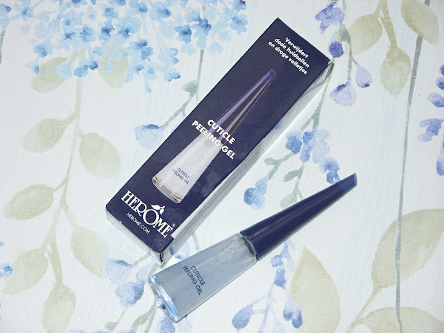 Recenzja: Peeling do skórek Cuticle Peeling Gel, Herome