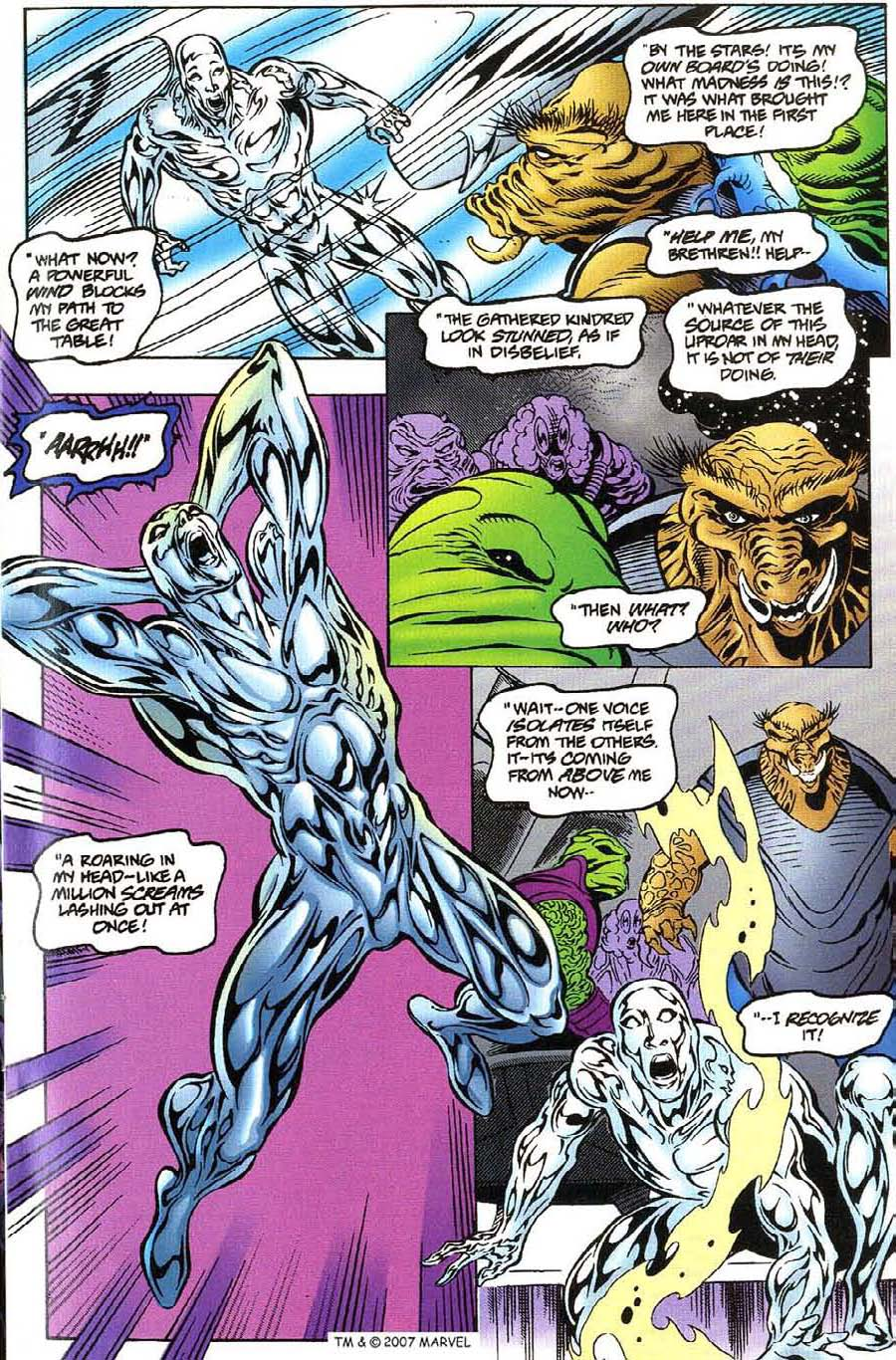 Read online Silver Surfer (1987) comic -  Issue #115 - 13